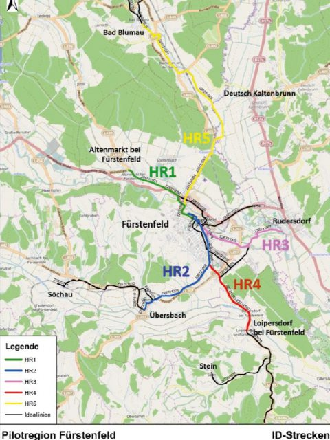 Radwege Pilot Land Fürstenfeld