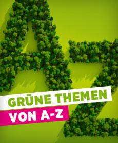 Grüne Themen A-Z